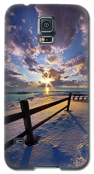 Galaxy S5 Case featuring the photograph And I Will Give You Rest. by Phil Koch