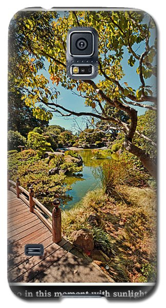 Johnny Carson Galaxy S5 Case - And So In This Moment With Sunlight Above by Jim Fitzpatrick
