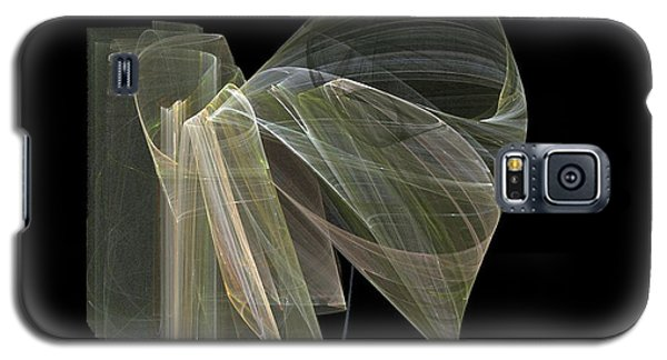 Galaxy S5 Case featuring the digital art And The Angel Spoke..... by Jackie Mueller-Jones