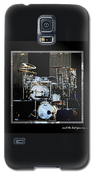 Drum Galaxy S5 Case - And The Beat Goes On.... by Holly Kempe