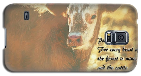 And The Cattle Galaxy S5 Case by Janice Rae Pariza