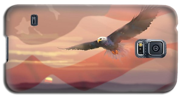And The Eagle Flies Galaxy S5 Case