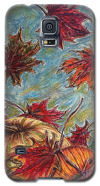 And The Leaves Came Tumbling Down Galaxy S5 Case