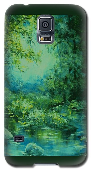 And Time Stood Still Galaxy S5 Case by Mary Wolf