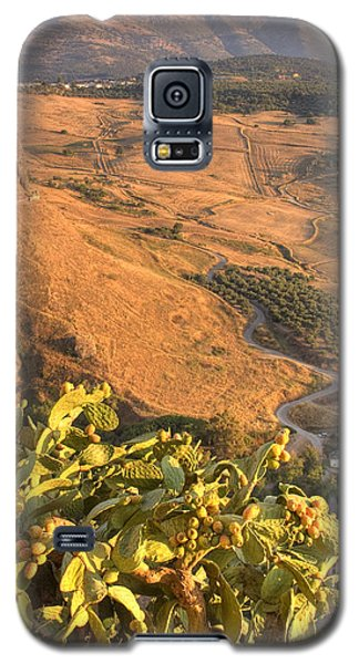 Galaxy S5 Case featuring the photograph Andalucian Golden Valley by Ian Middleton