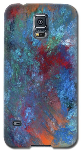 Galaxy S5 Case featuring the digital art Andee Design Abstract 1 2017 by Andee Design