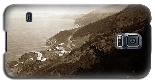 Anderson Creek Labor Camp Big Sur April 3 1931 Galaxy S5 Case by California Views Mr Pat Hathaway Archives