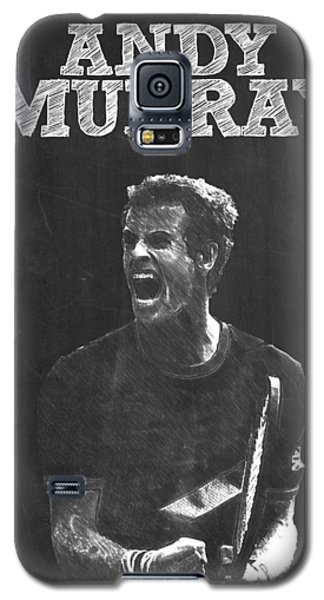 Serena Williams Galaxy S5 Case - Andy Murray by Semih Yurdabak