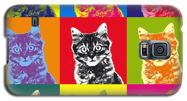 Andy Warhol Cat Galaxy S5 Case