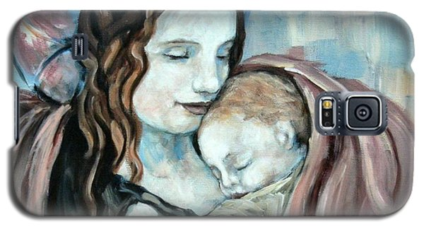 Angel And Baby No. 5 Galaxy S5 Case