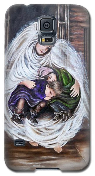Angel And The Orphans Galaxy S5 Case by Sigrid Tune