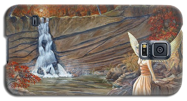 Angel At The Waterfall Galaxy S5 Case
