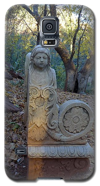 Angel Bench Autumn Sedona Galaxy S5 Case