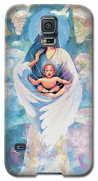Angel Blessing Galaxy S5 Case