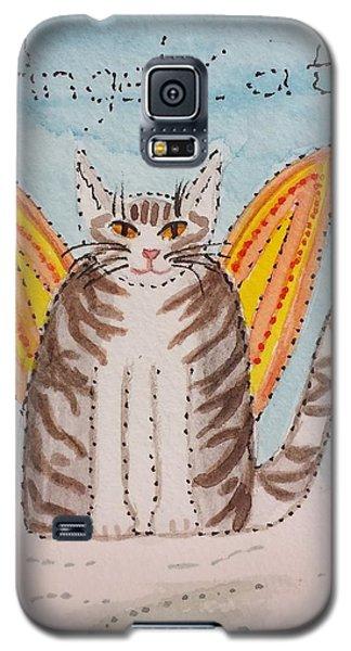 Angel Cat Galaxy S5 Case