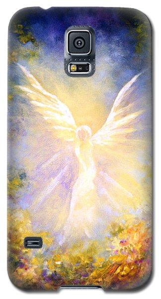 Angel Descending Galaxy S5 Case by Marina Petro