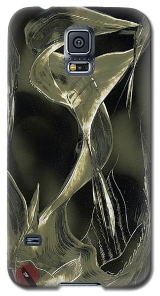 Angel Fish Abstract Galaxy S5 Case