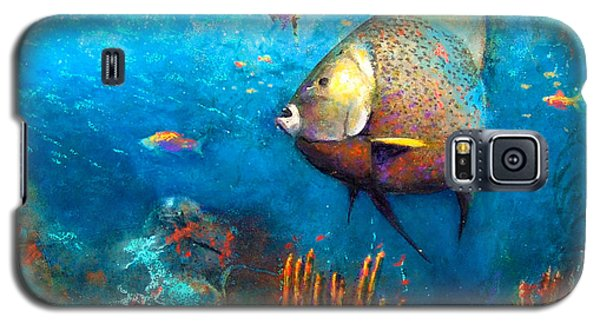 Angel Fish Galaxy S5 Case by Andrew King