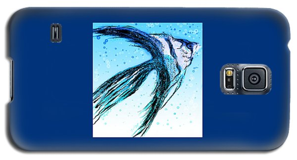Angel Fish Art Galaxy S5 Case