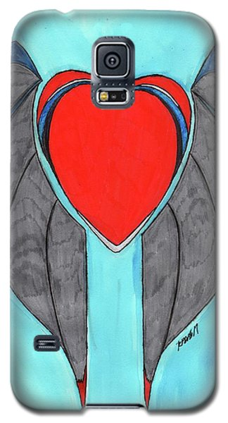 Angel Heart Galaxy S5 Case by Ronald Woods