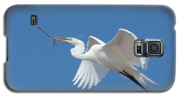 Galaxy S5 Case featuring the photograph Angel In Flight by Fraida Gutovich