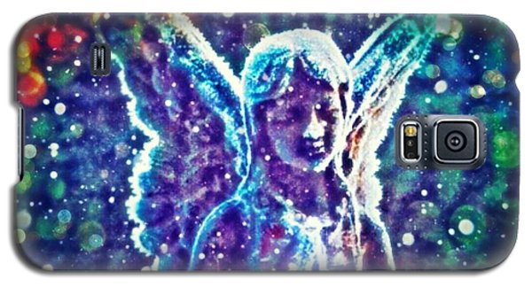 Angel In The Snow Galaxy S5 Case