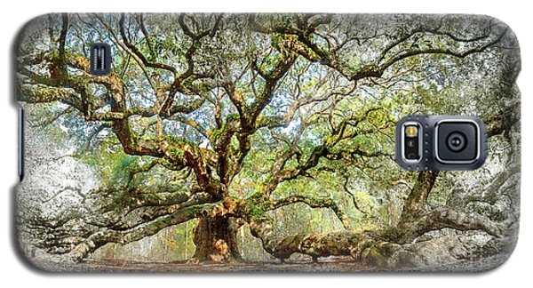 Angel Oak Mixed Media Galaxy S5 Case