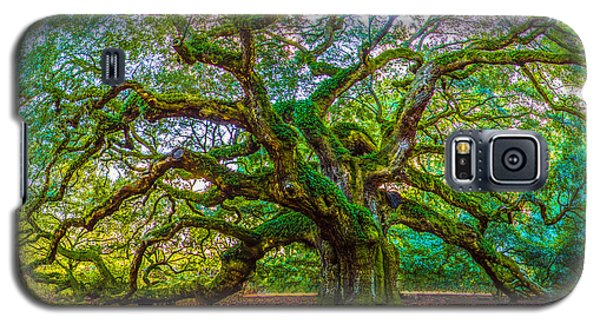 Angel Oak Tree Charleston Sc Galaxy S5 Case