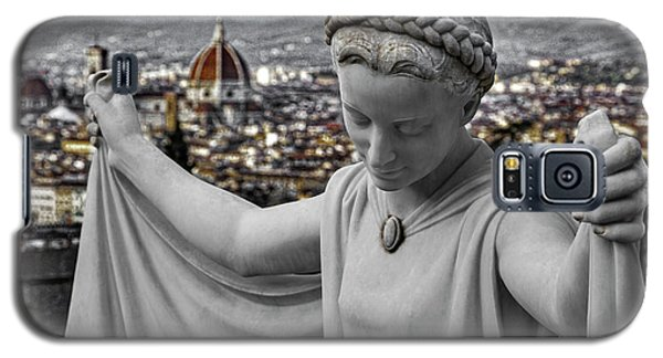 Galaxy S5 Case featuring the photograph Angel Of Florence by Sonny Marcyan