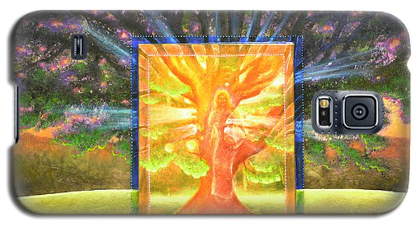 Angel Of The Trees Galaxy S5 Case