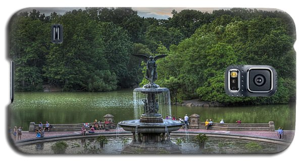 Angel Of The Waters Fountain  Bethesda Galaxy S5 Case