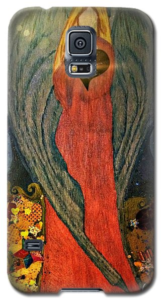Angel Sails Waves Of Love Galaxy S5 Case