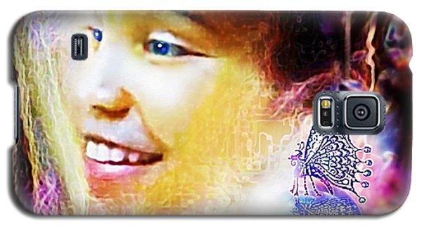Angel Smile Galaxy S5 Case