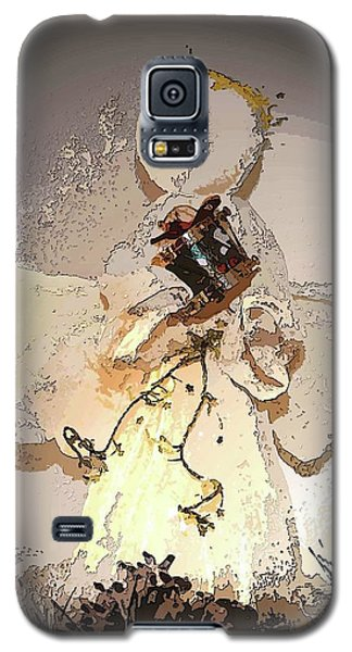 Angel With Drum Galaxy S5 Case