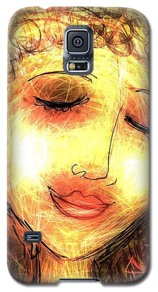 Angela Galaxy S5 Case by Elaine Lanoue