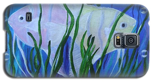 Angelfish Duo Galaxy S5 Case