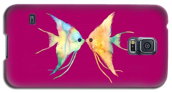 Angelfish Kissing Galaxy S5 Case