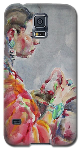 Angelica Galaxy S5 Case