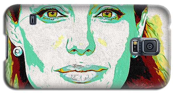 Angelina Jolie Galaxy S5 Case
