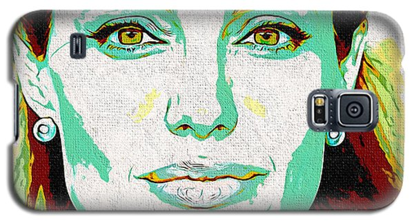 Angelina Jolie Galaxy S5 Case