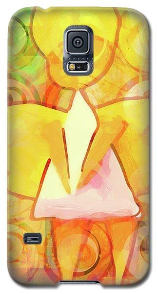 Angelino Yellow Galaxy S5 Case