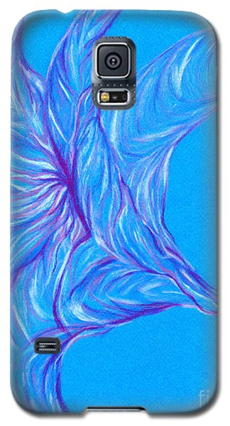 Galaxy S5 Case featuring the photograph Angel's Trumpet by Kim Sy Ok