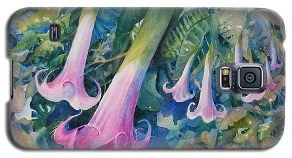 Angels Trumpets I Galaxy S5 Case