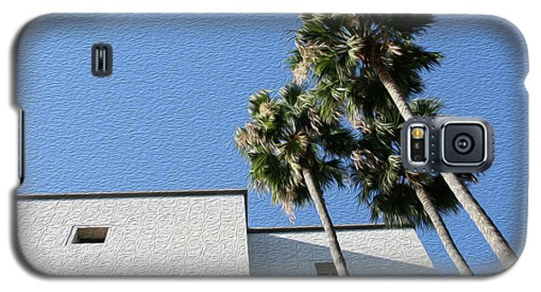 Angles And 3 Palm Tress Galaxy S5 Case