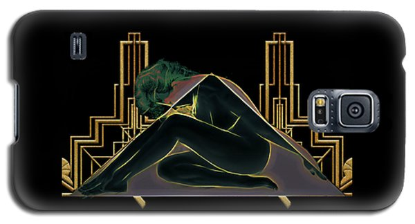 Angles Of Art Deco Galaxy S5 Case