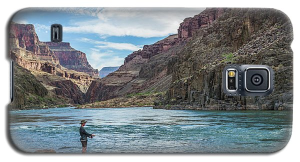 Angling On The Colorado Galaxy S5 Case by Alan Toepfer