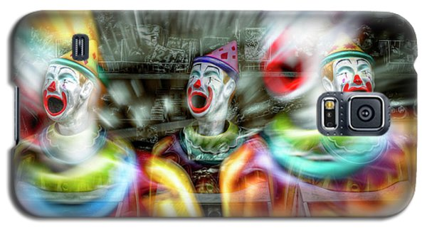 Angry Clowns Galaxy S5 Case by Wayne Sherriff
