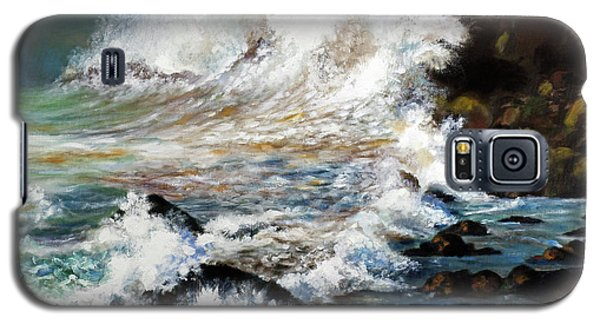Angry Sea Galaxy S5 Case by Walter Fahmy