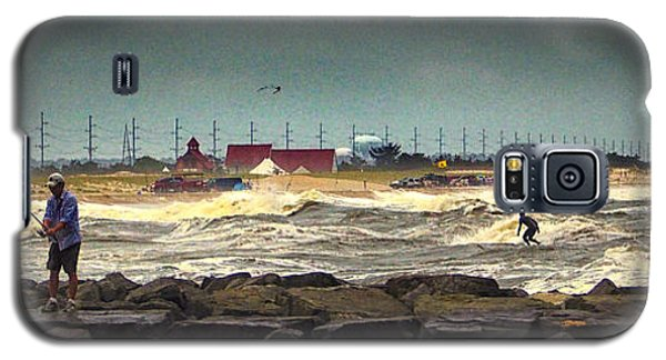 Angry Surf At Indian River Inlet Galaxy S5 Case