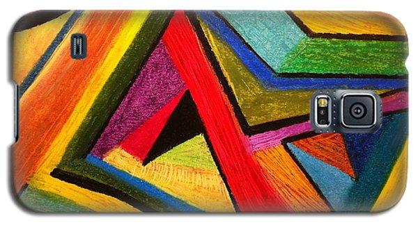 Angular Pull Galaxy S5 Case